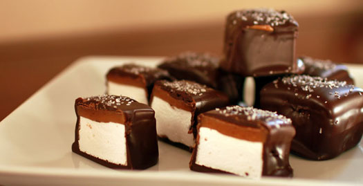 The Karen Mary Co.'s Chocolate-Covered Marshmallows.