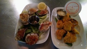Orange Anchor Oysters
