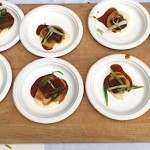 Poste's Braised Short Ribs were served with Teriyaki sauce and cauliflower purée.