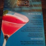 Blackwell Hitch: Happy Hour Menu