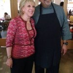 AG Kitchen: Publicist Jill Collins & Restauranteur Alex Garcia (Click for Full Image)