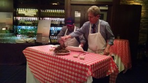 John Shields & Wildfire's Chef Moreno Attack a Pile of Blue Crabs!