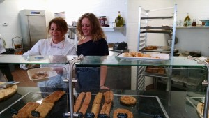Chef Argiro Barbarigou & Alfa's Katerina Serving up Goodies!