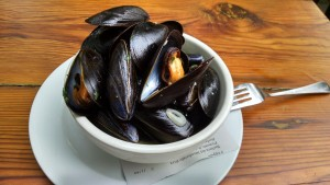 Big Bear Cafe's Mussels Are Easily Worth the $4 Happy Hour Pricing!
