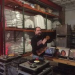 The DJ Spins on Vintage Vinyl