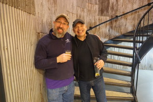 Left: Jonathan Reeves, Head Brewer, Port City Brewing Company