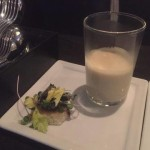 Cauliflower veloute - with truffle, of course