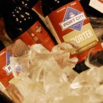 Port City Beer mixed with cheese to create an American Fondue