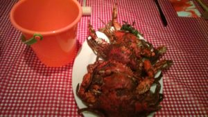 Maryland Style Blue Crab, Paired with Union Craft Brewing Golden Ale
