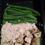 Chicken Breast, White Rice, Green Beans